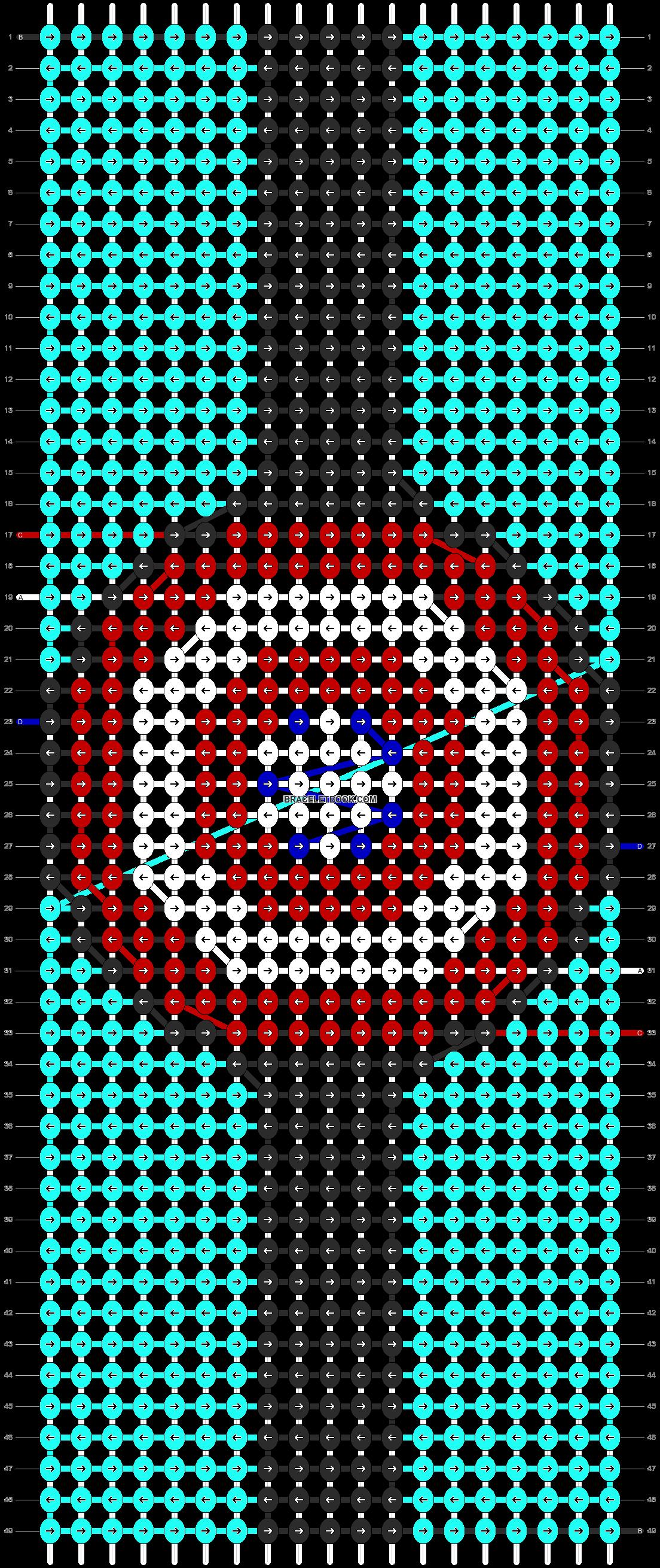 Alpha pattern #90137 pattern