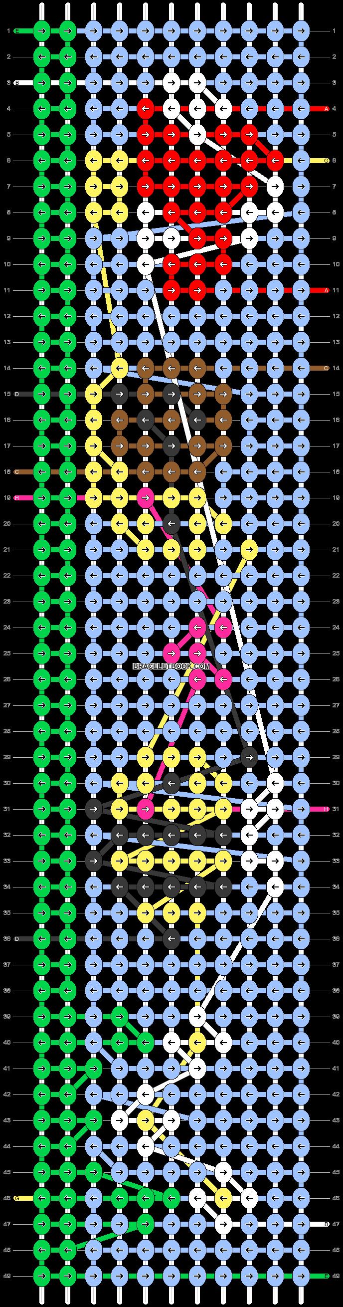 Alpha pattern #90148 pattern