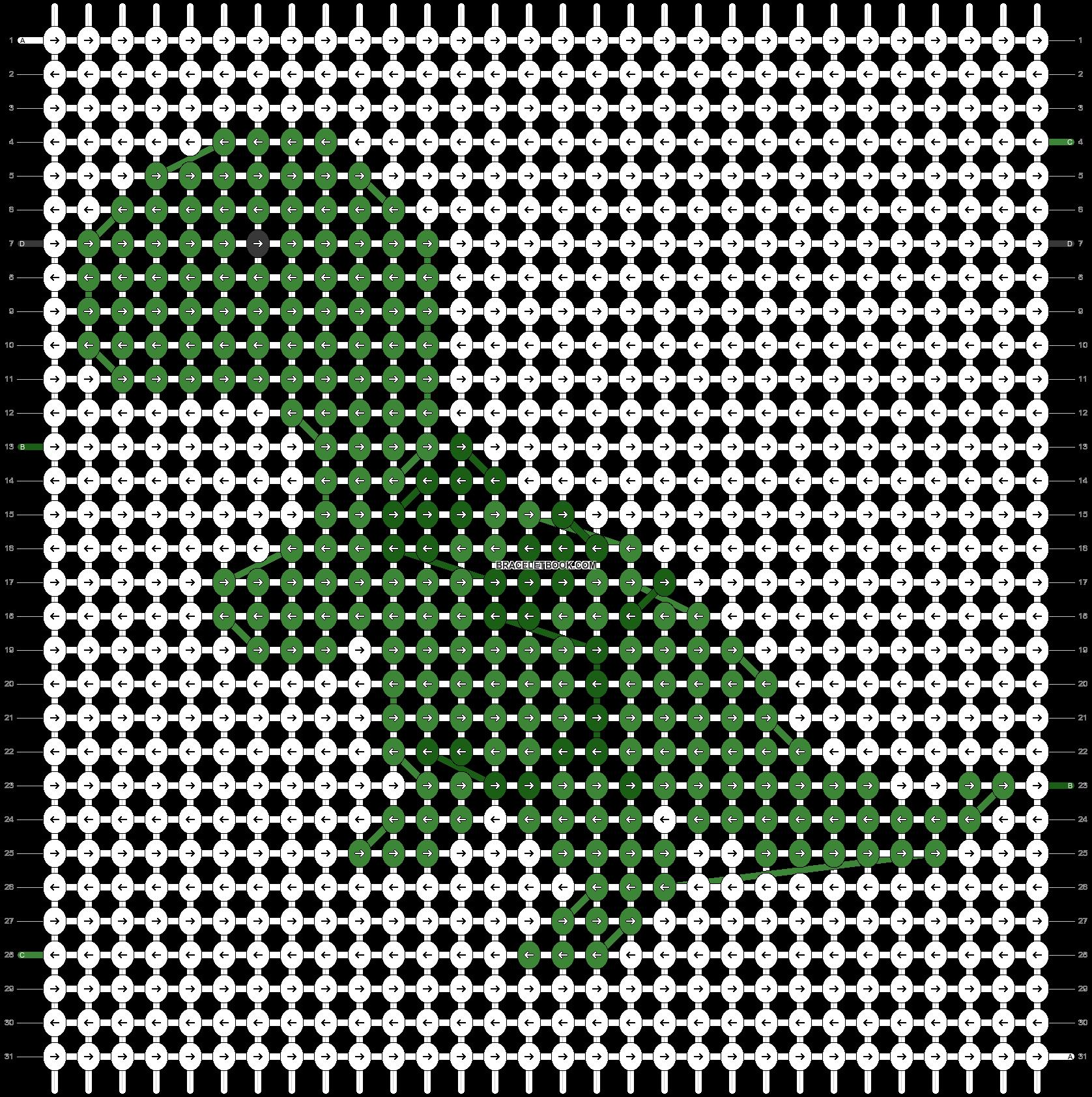 Alpha pattern #90160 pattern