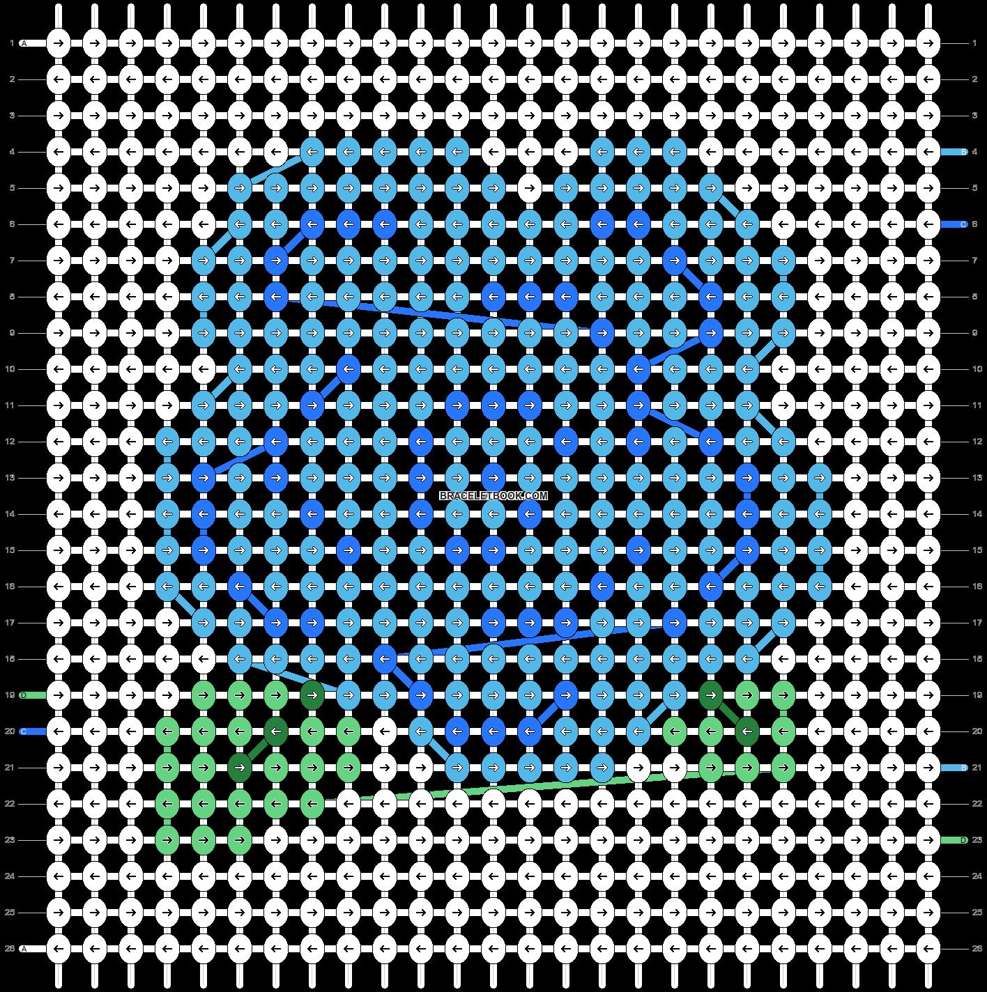 Alpha pattern #90162 pattern