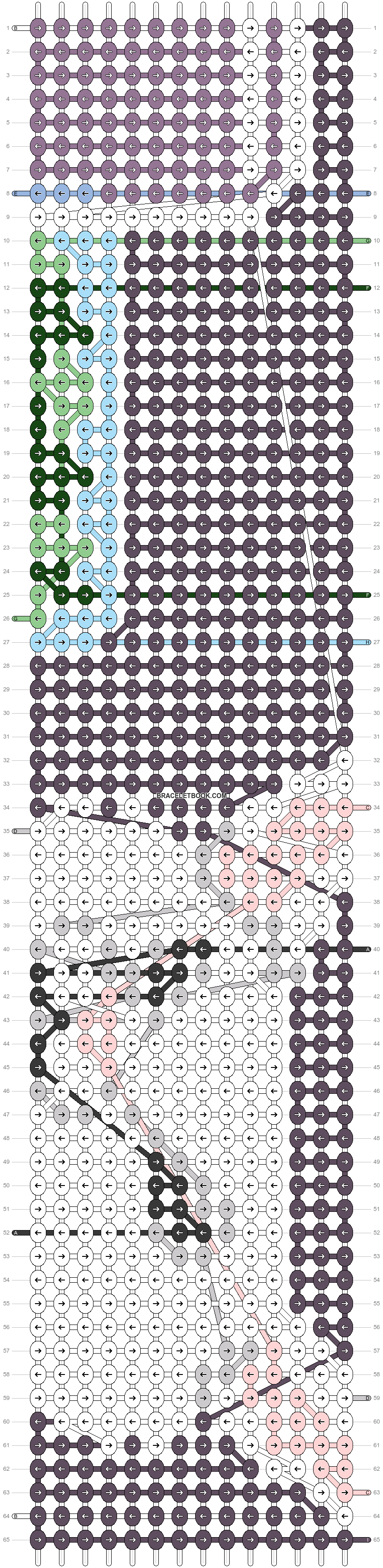 Alpha pattern #90199 pattern