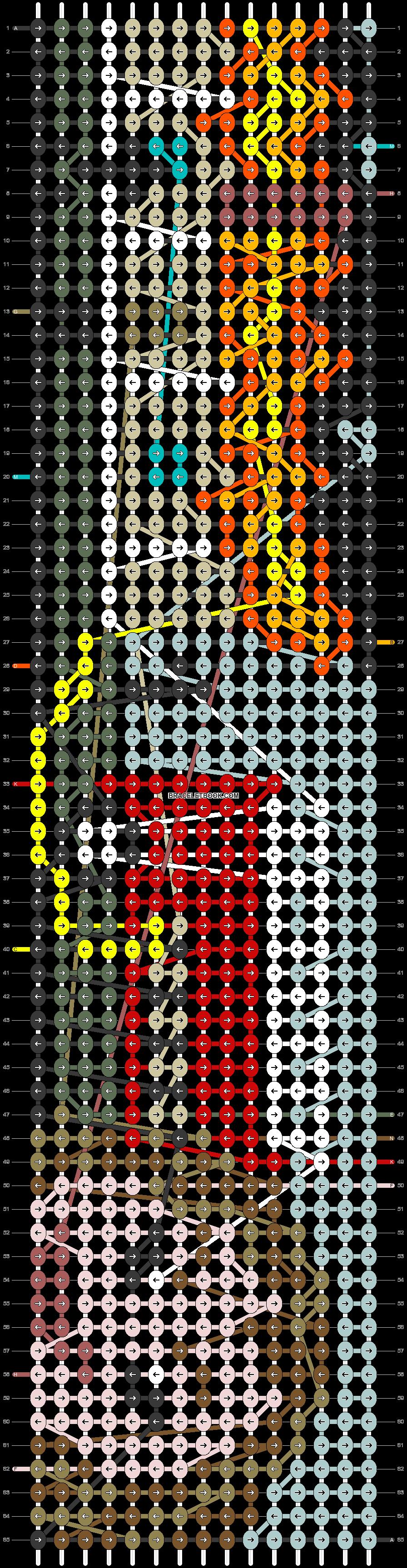 Alpha pattern #90216 pattern