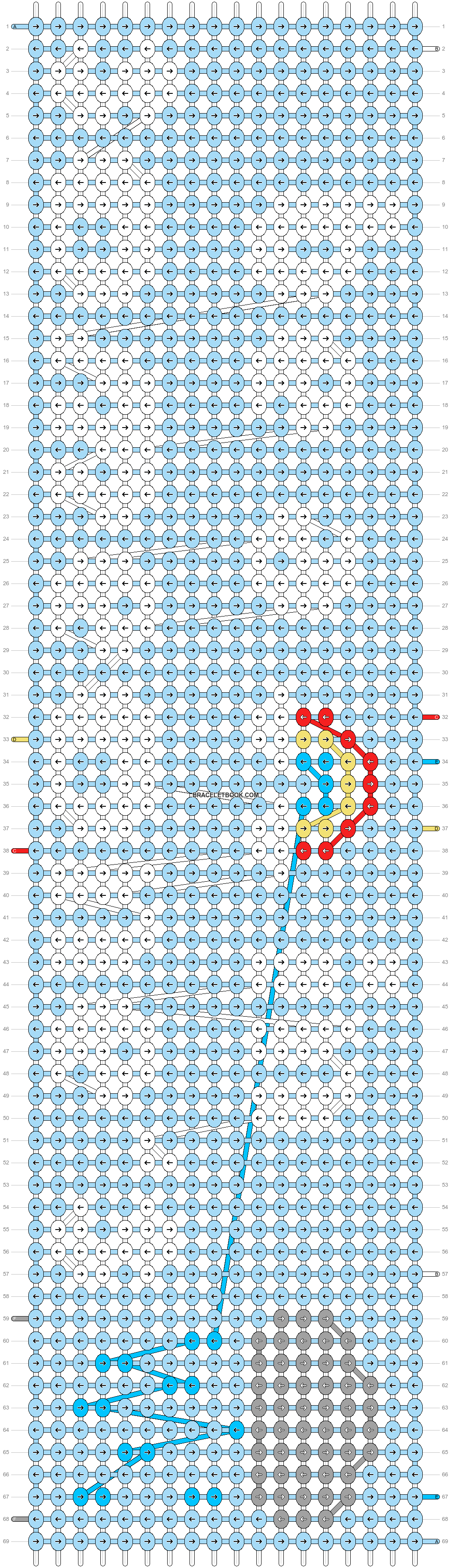 Alpha pattern #90226 pattern