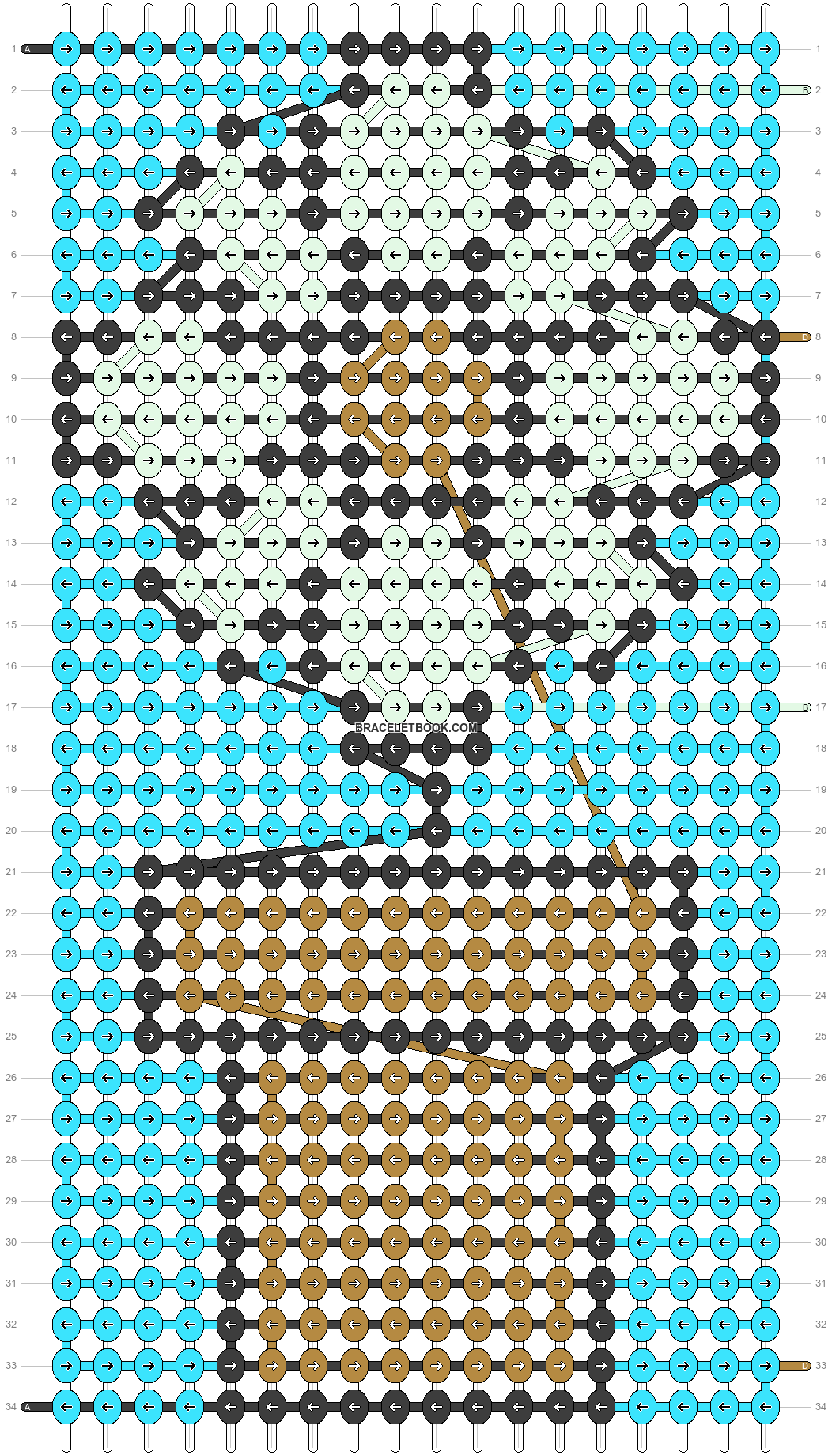 Alpha pattern #90227 pattern
