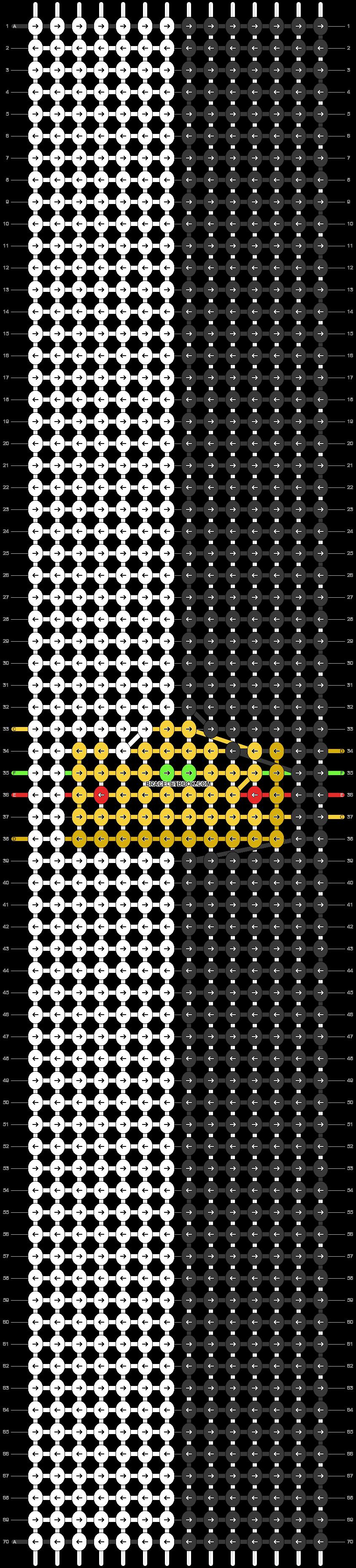 Alpha pattern #90231 pattern
