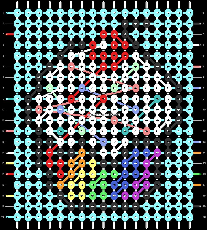 Alpha pattern #90249 pattern