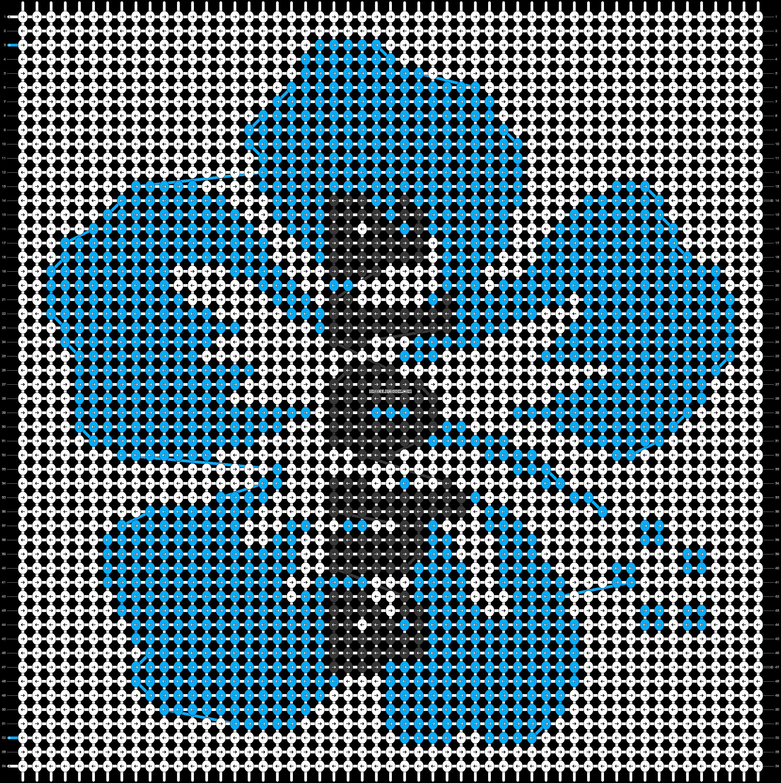 Alpha pattern #90254 pattern