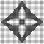 Alpha pattern #90255