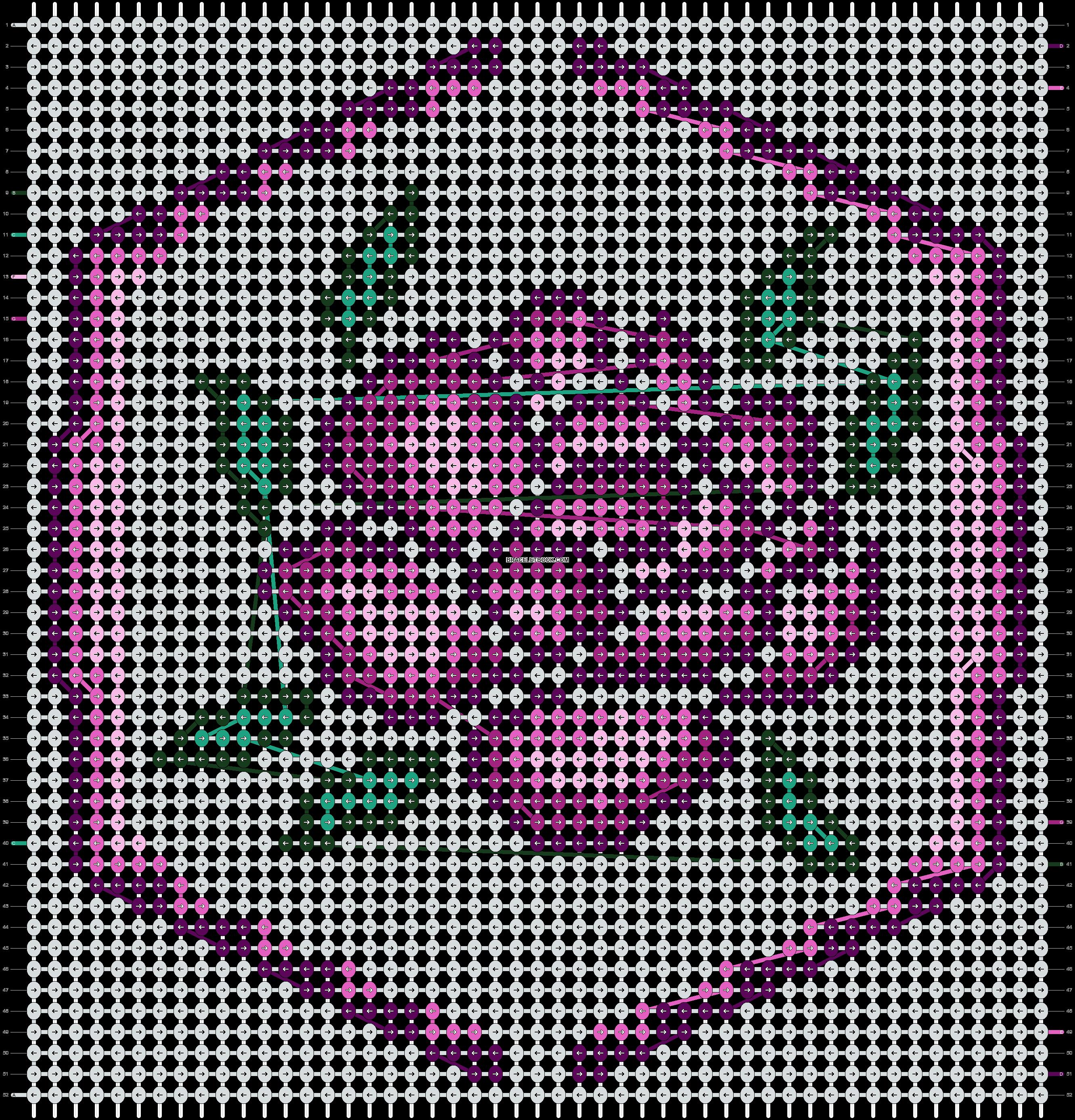 Alpha pattern #90268 pattern