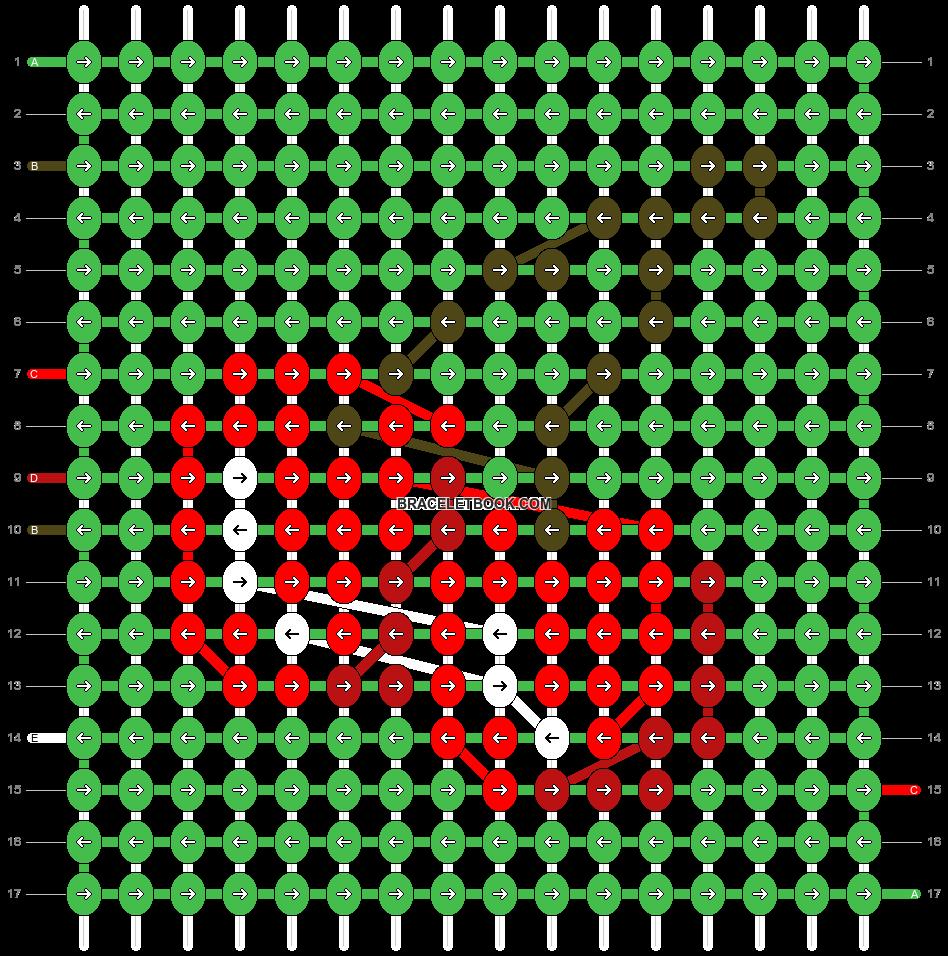 Alpha pattern #90279 pattern
