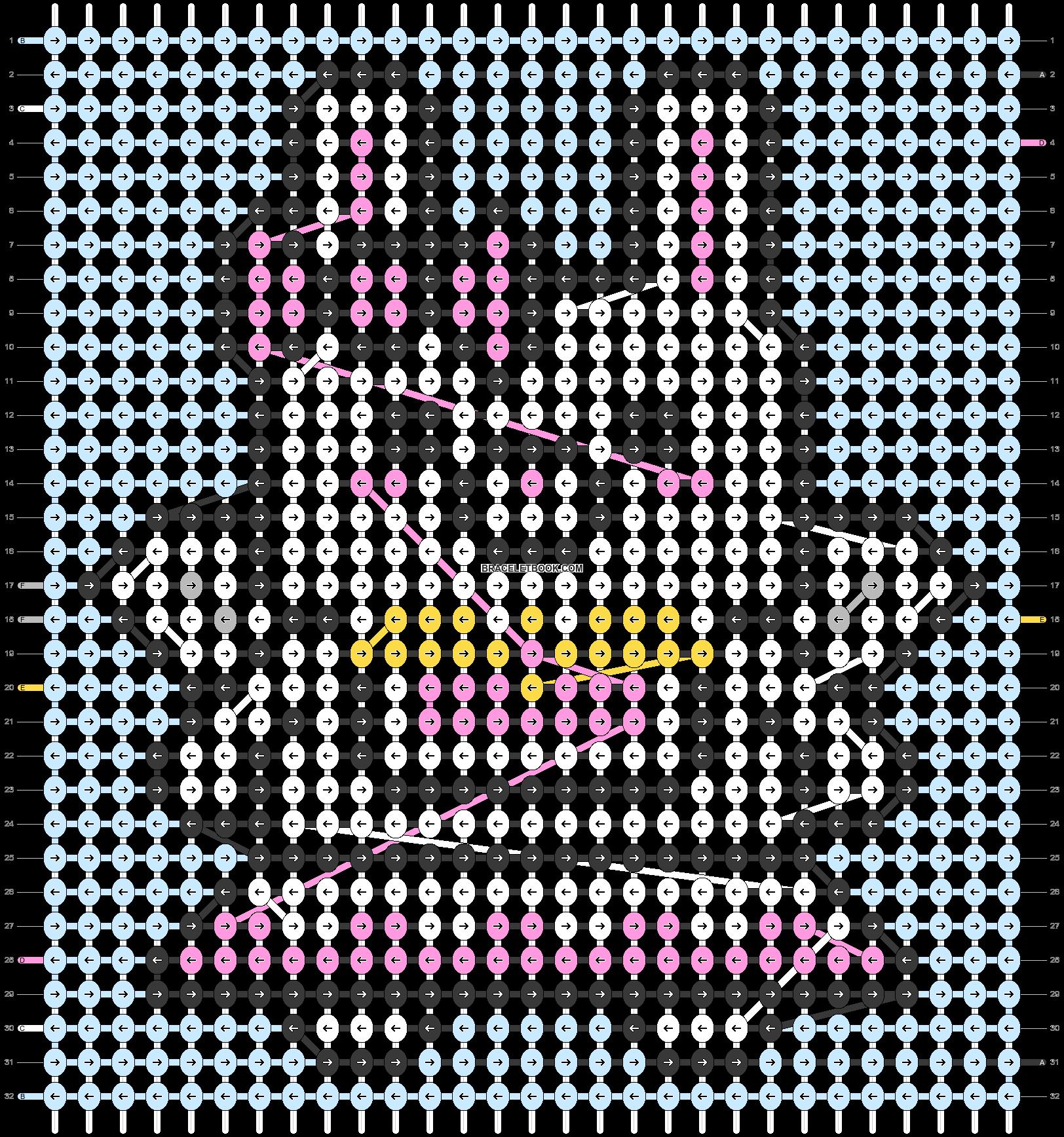 Alpha pattern #90282 pattern