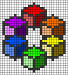 Alpha pattern #90283