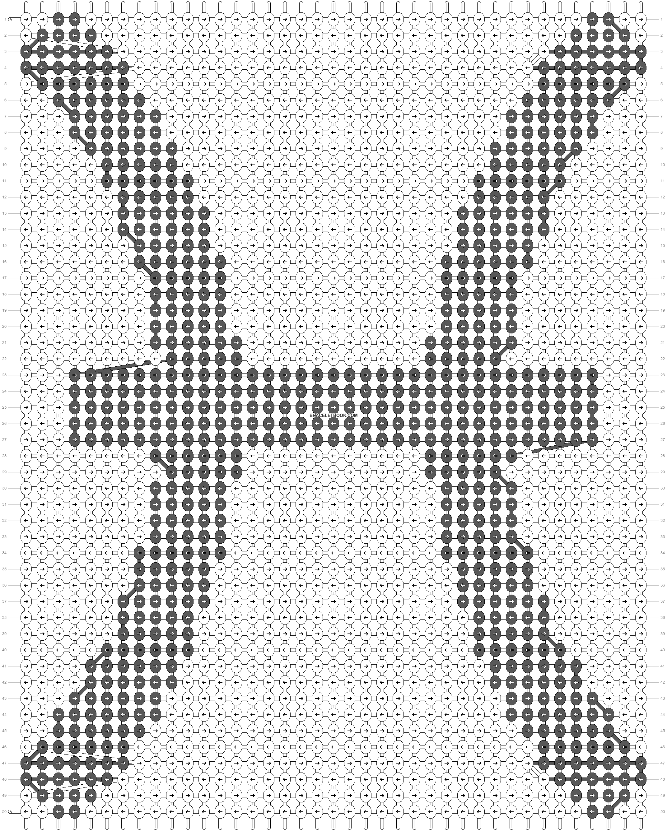 Alpha pattern #90302 pattern