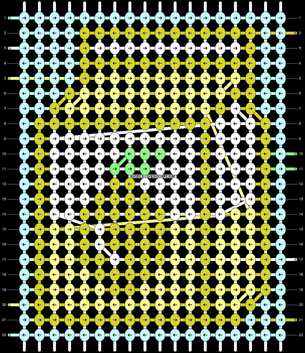Alpha pattern #90323 pattern