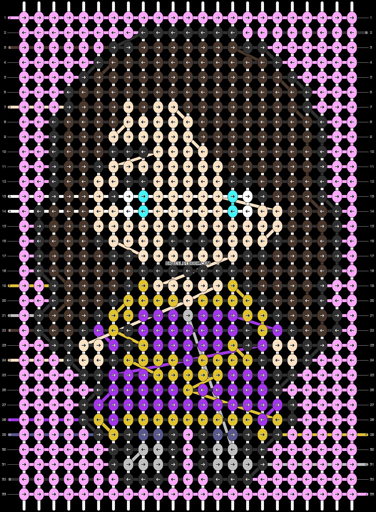 Alpha pattern #90325 pattern