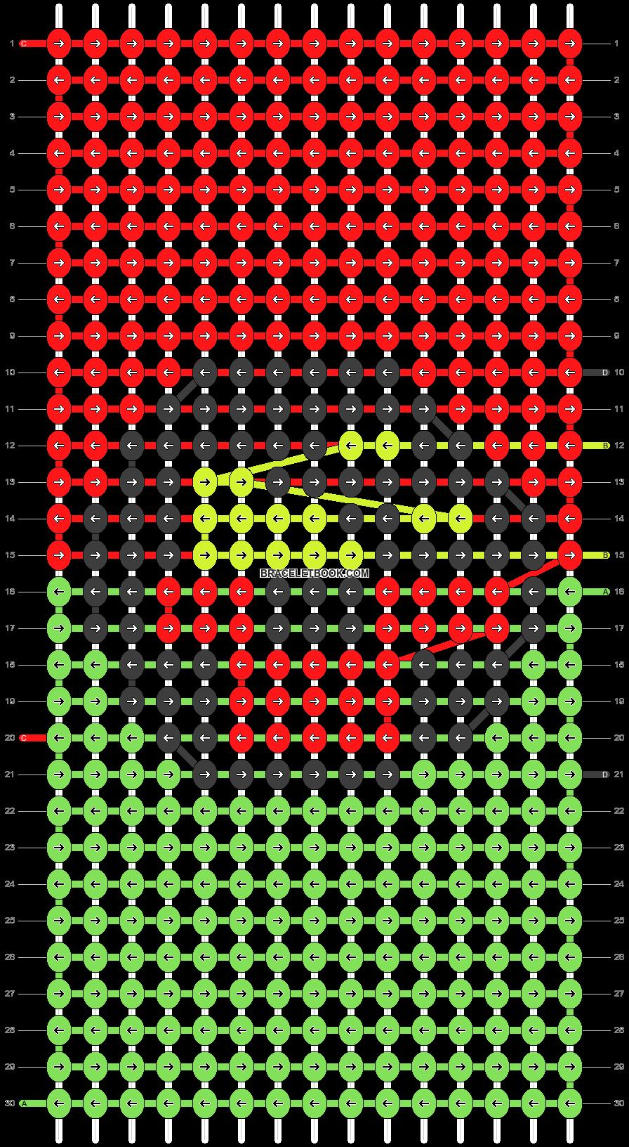 Alpha pattern #90340 pattern