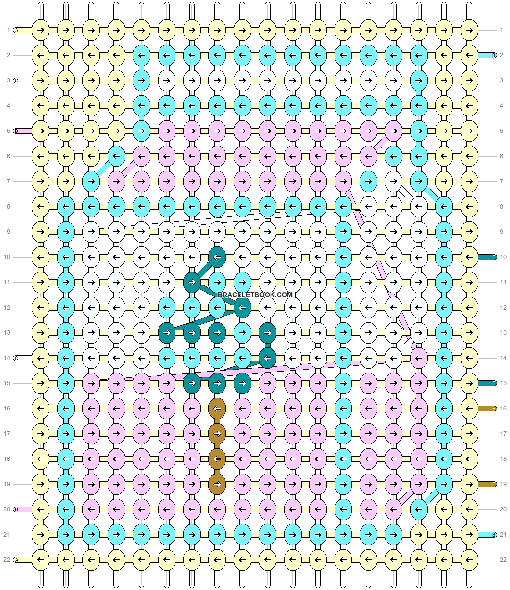 Alpha pattern #90353 pattern