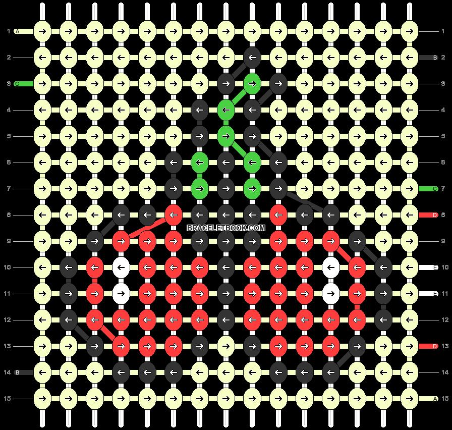 Alpha pattern #90359 pattern