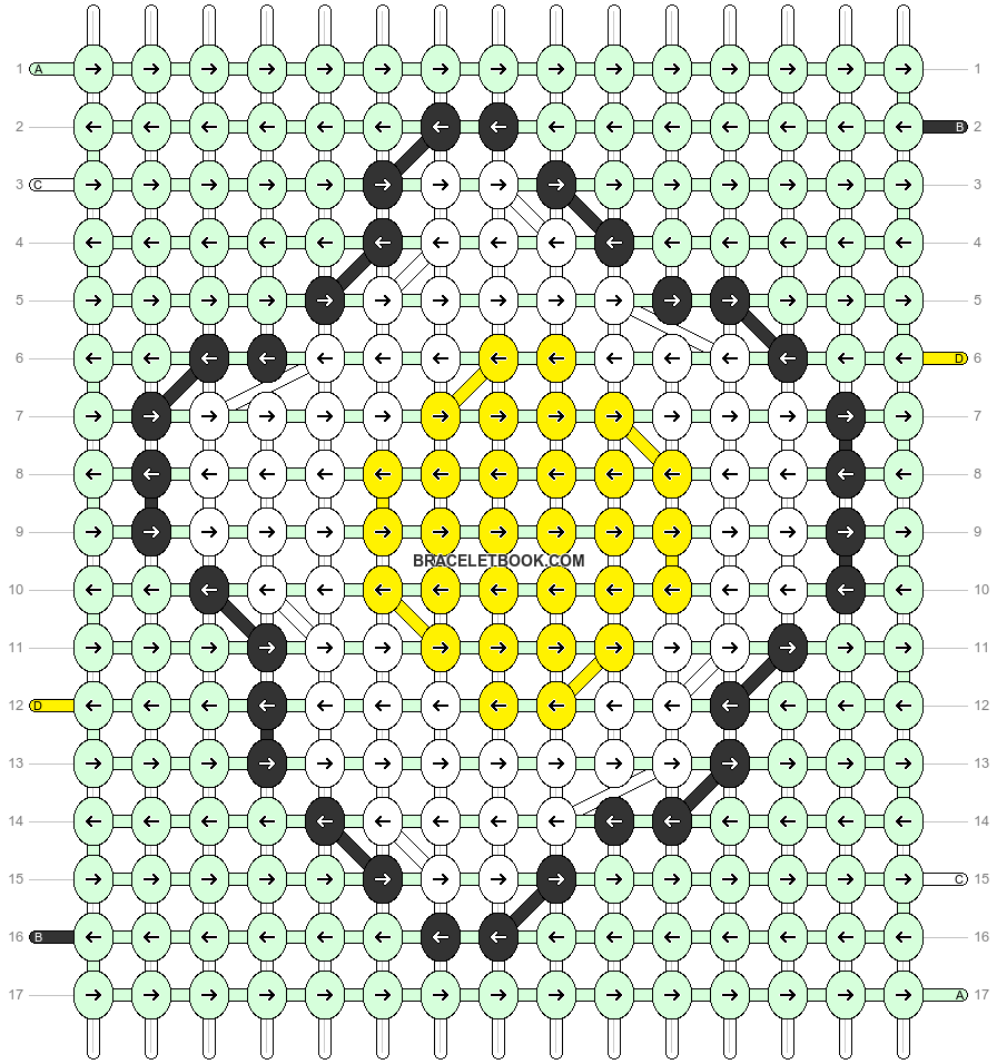 Alpha pattern #90360 pattern