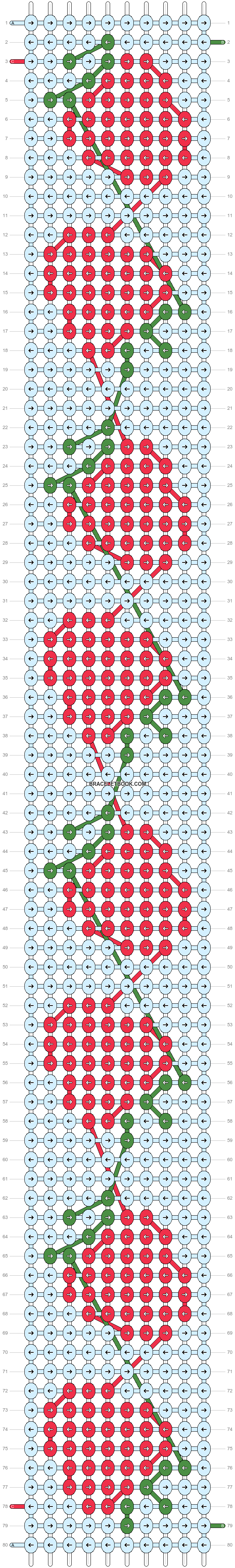 Alpha pattern #90363 pattern