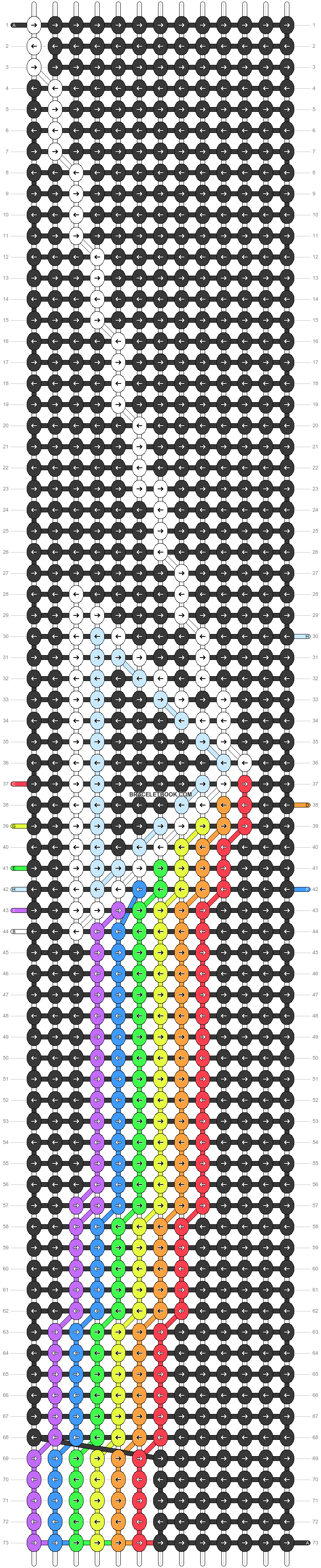 Alpha pattern #90374 pattern