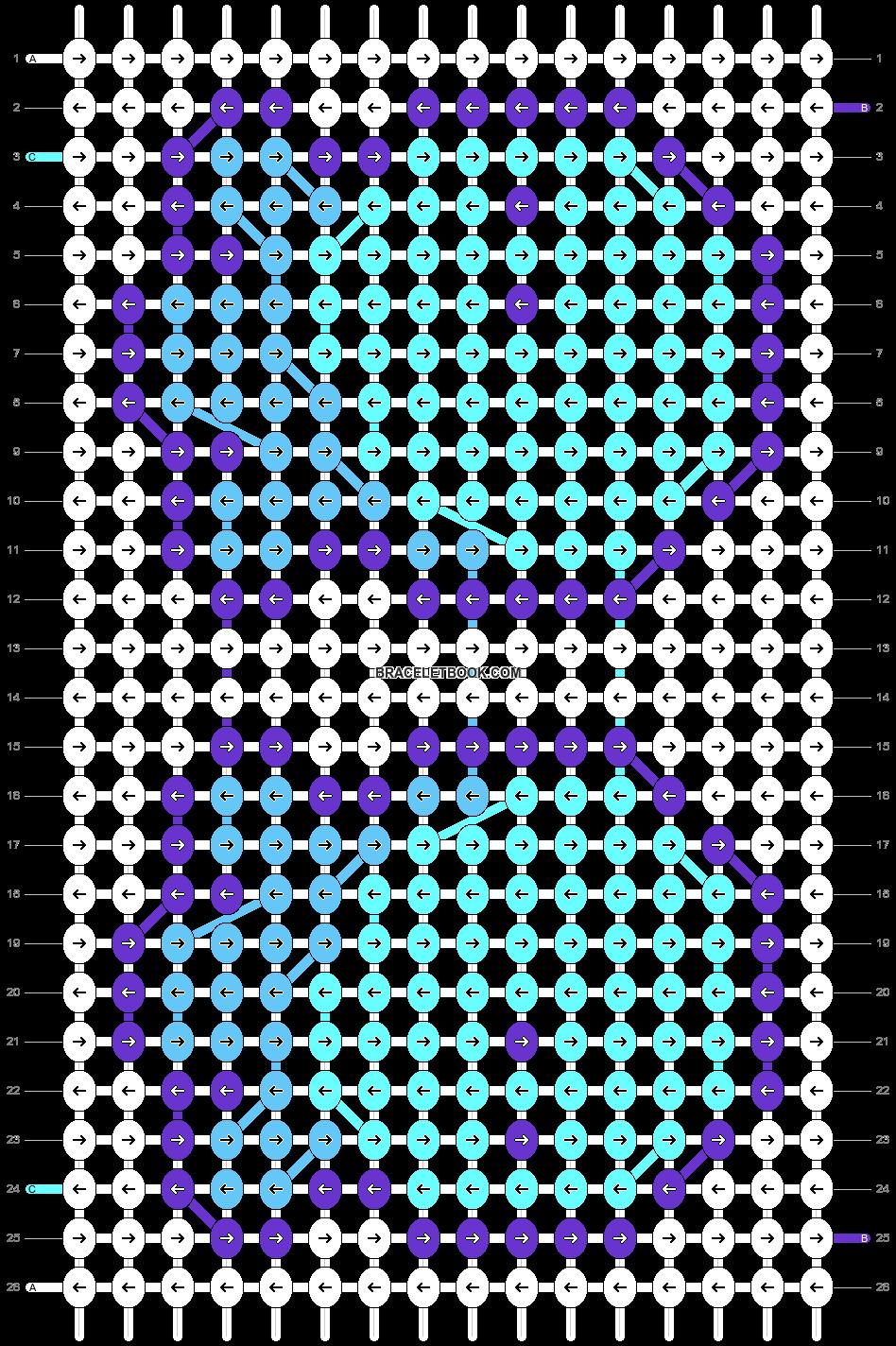 Alpha pattern #90376 pattern