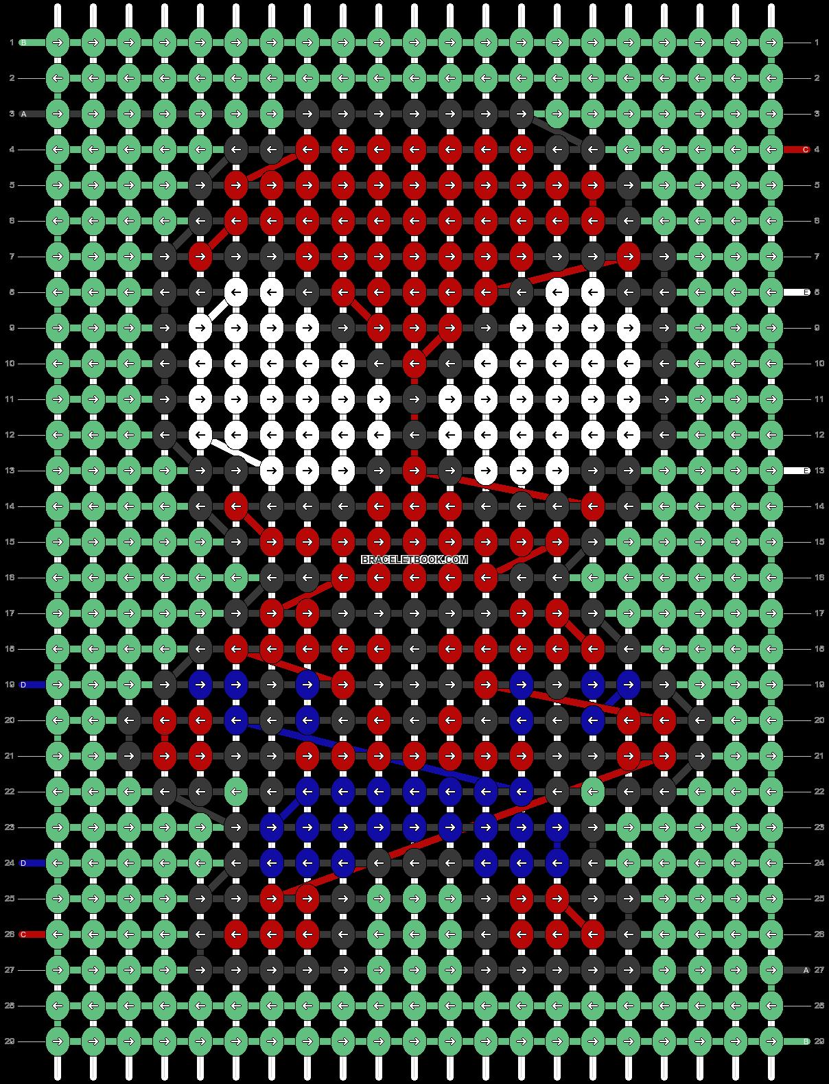 Alpha pattern #90378 pattern