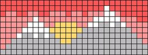 Alpha pattern #90400