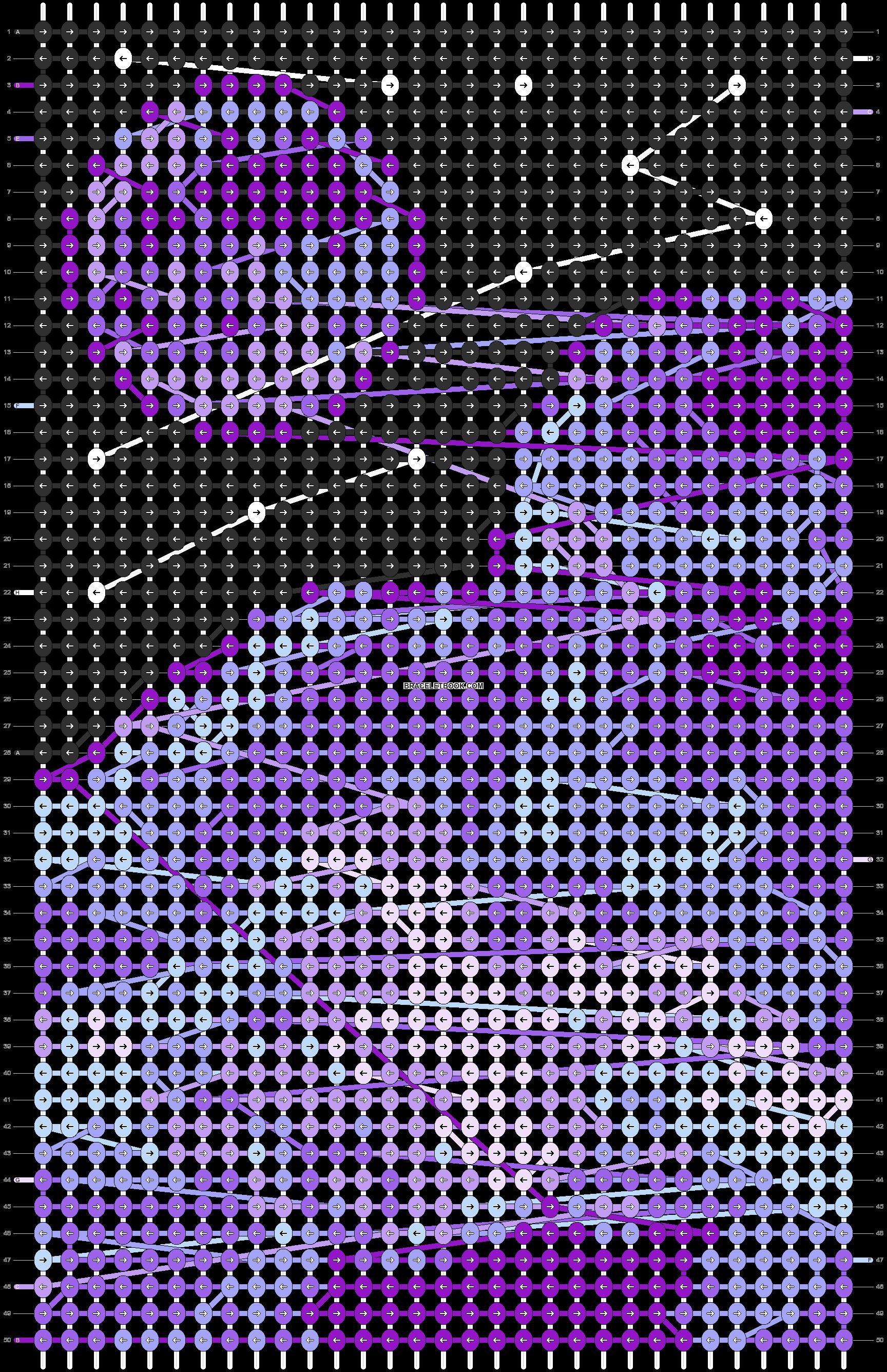 Alpha pattern #90457 pattern