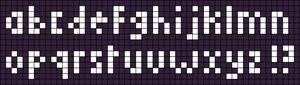 Alpha pattern #90459