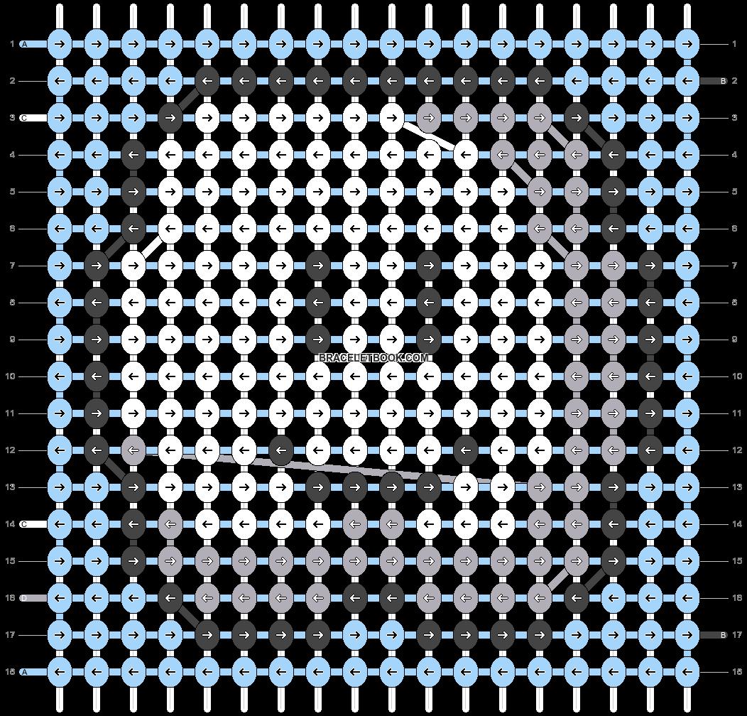 Alpha pattern #90476 pattern
