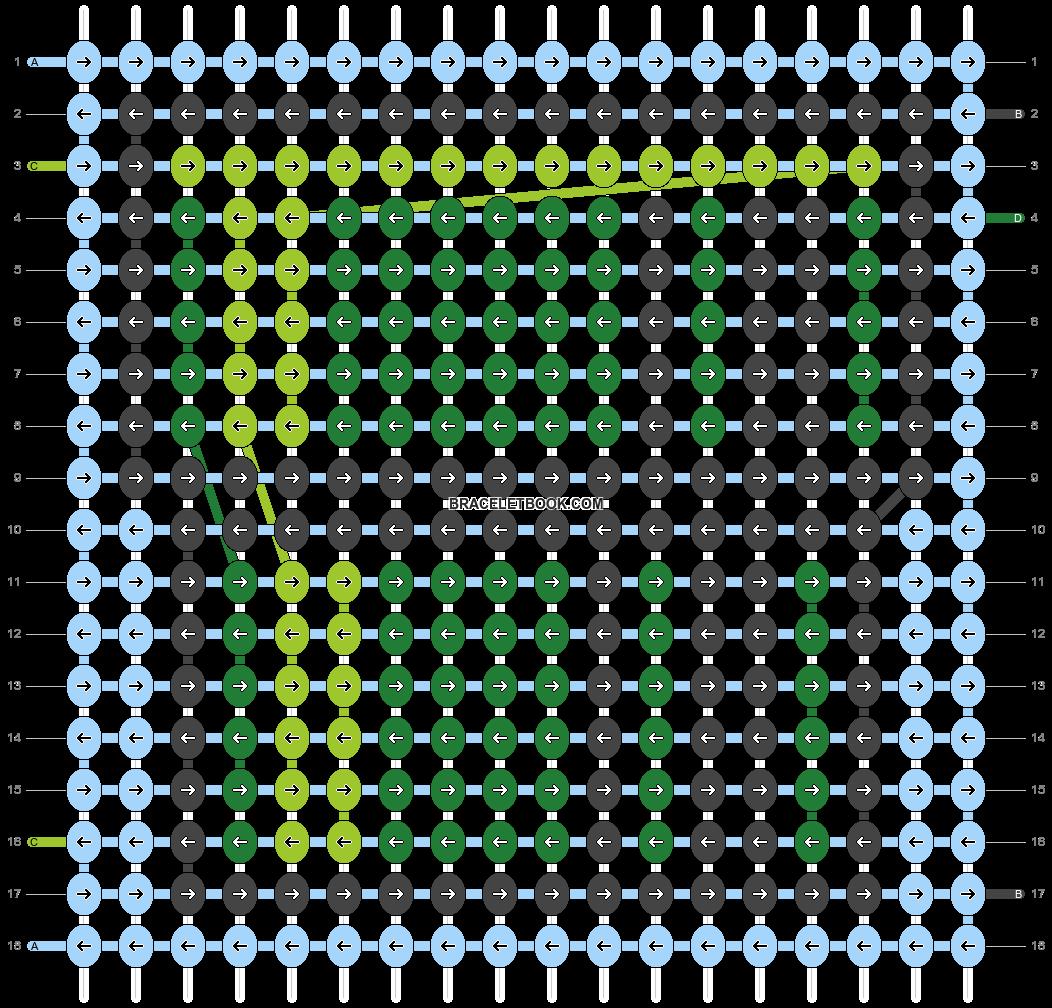 Alpha pattern #90477 pattern