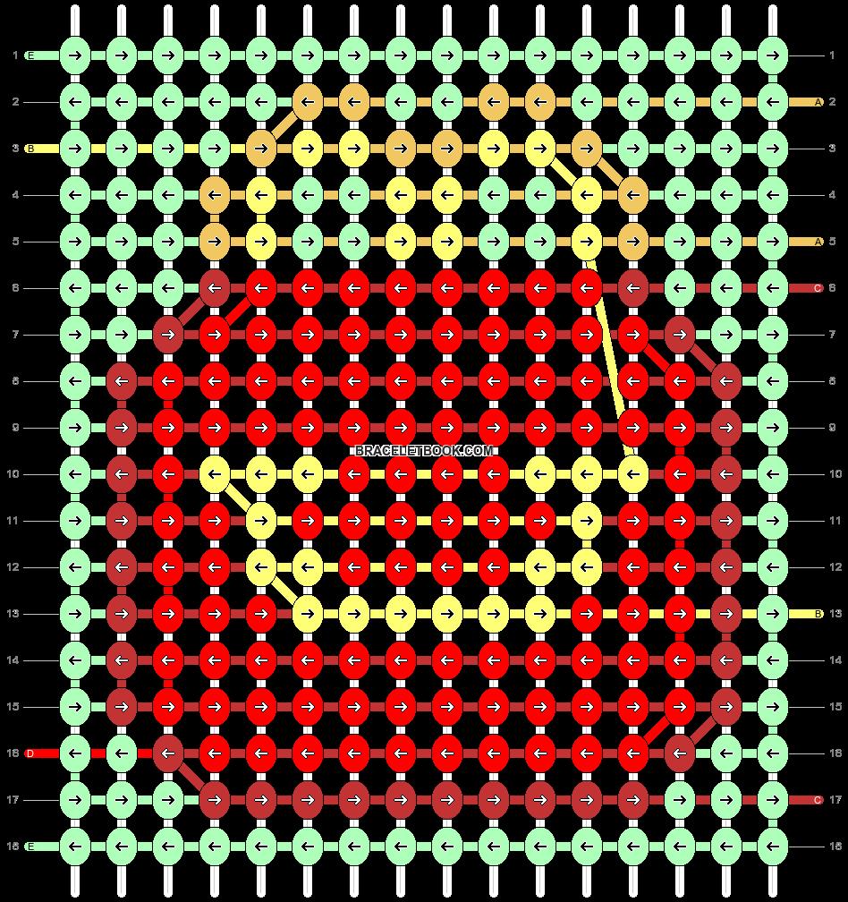 Alpha pattern #90489 pattern
