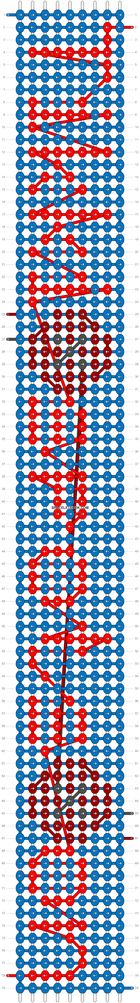 Alpha pattern #90503 pattern