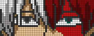 Alpha pattern #90510
