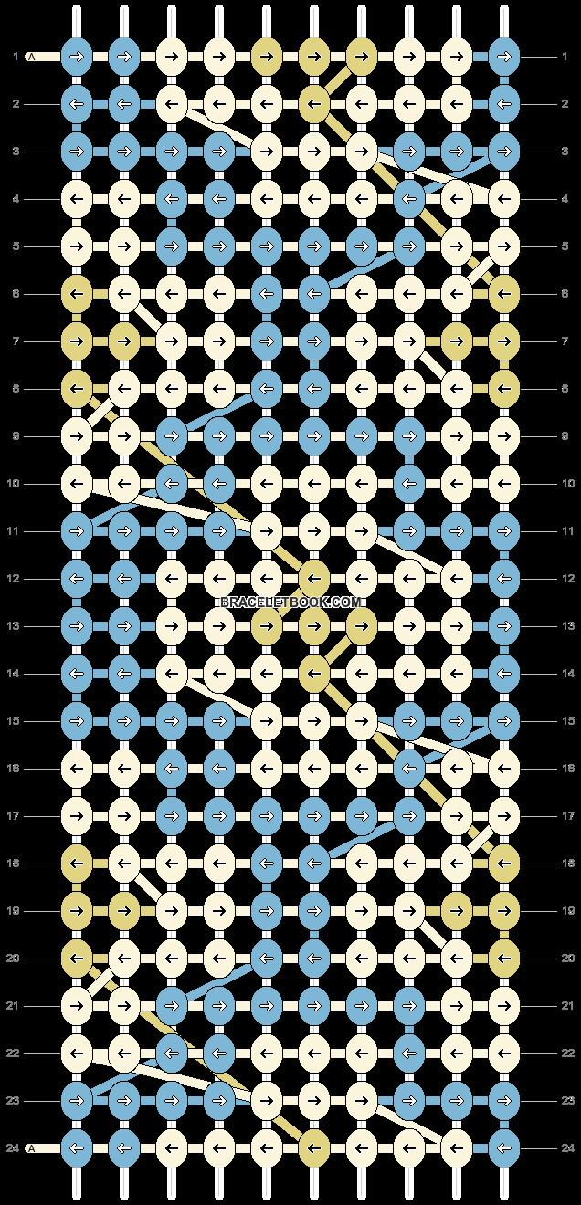 Alpha pattern #90514 pattern