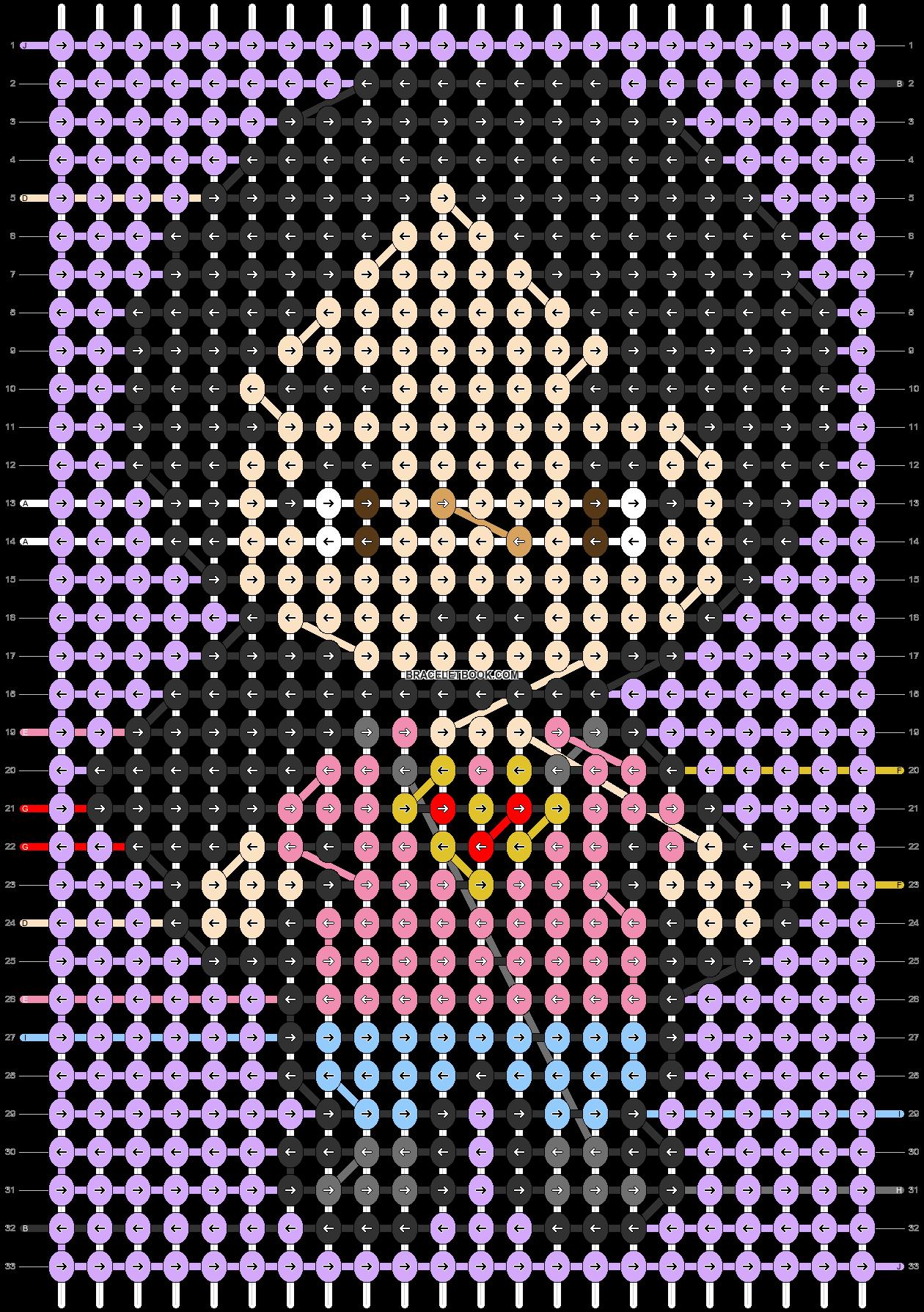 Alpha pattern #90518 pattern