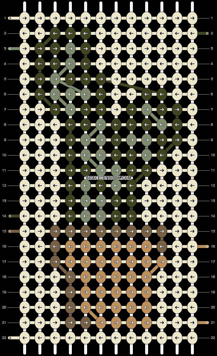 Alpha pattern #90566 pattern