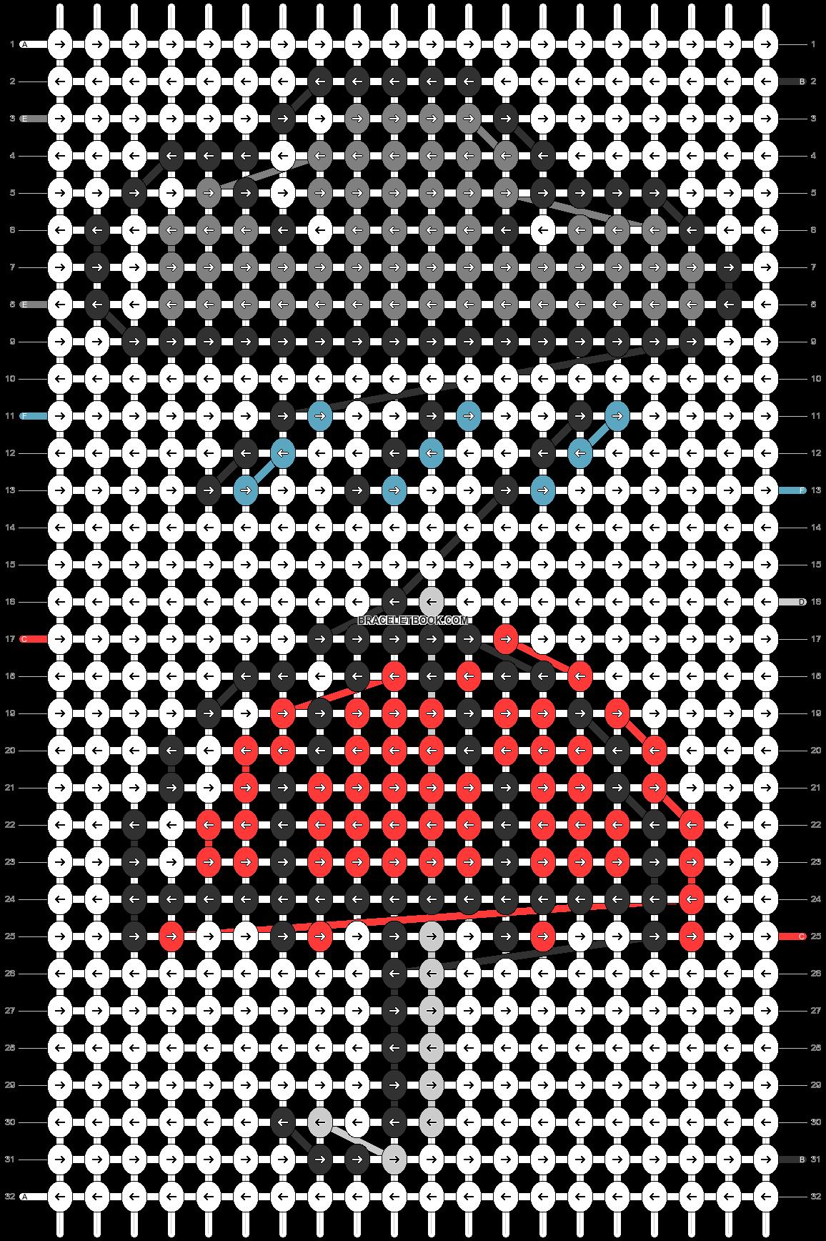 Alpha pattern #90568 pattern