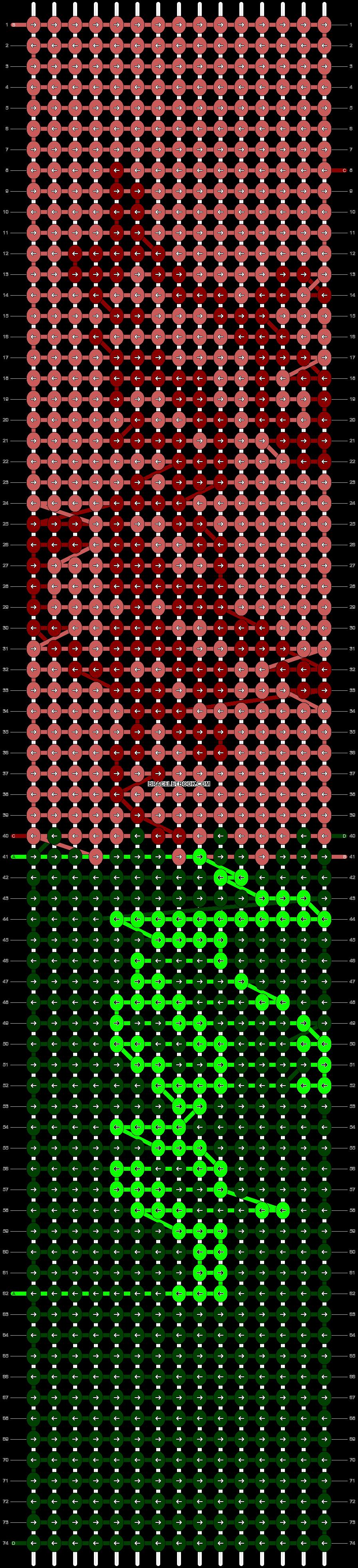 Alpha pattern #90574 pattern