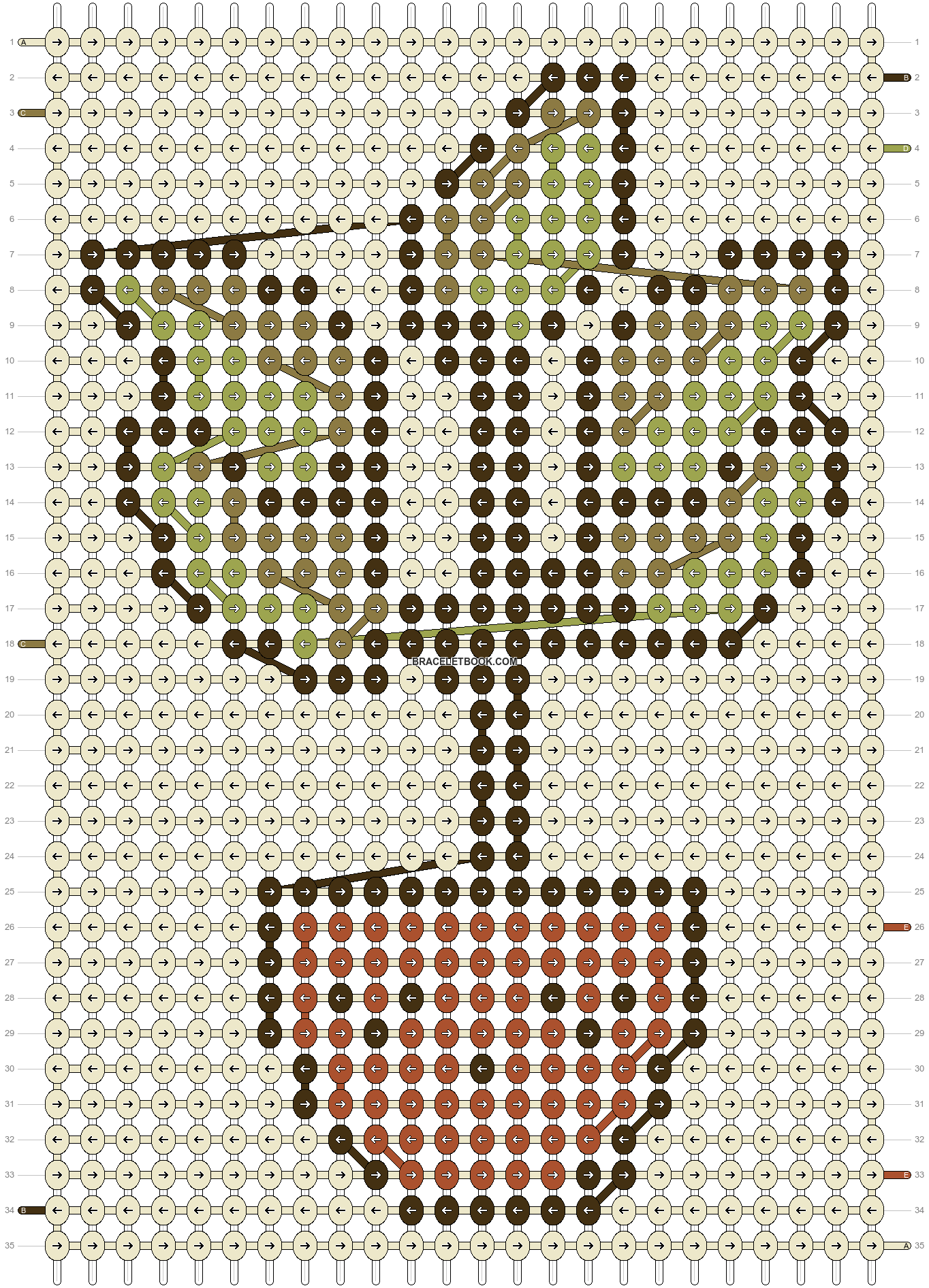 Alpha pattern #90576 pattern