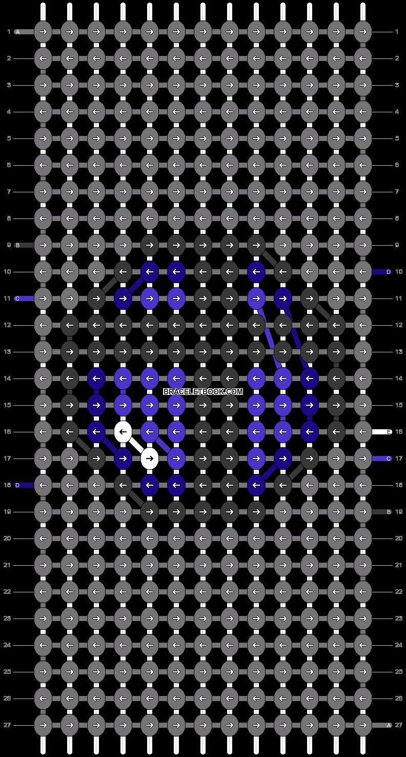 Alpha pattern #90578 pattern