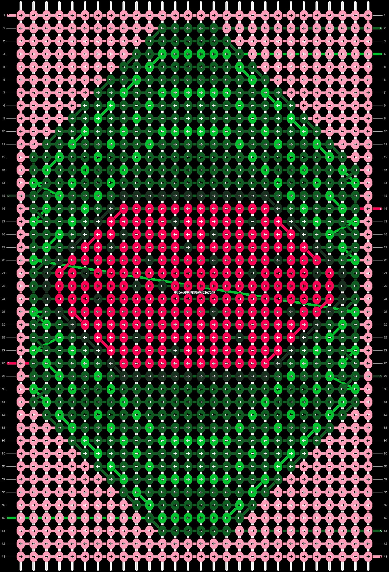 Alpha pattern #90599 pattern
