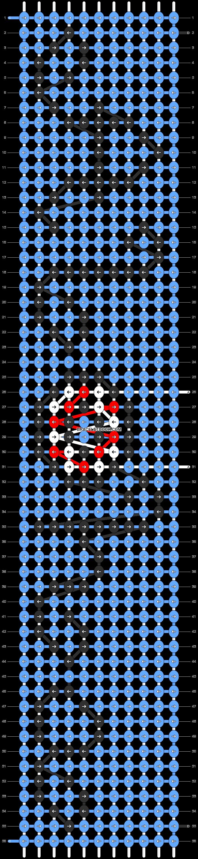 Alpha pattern #90645 pattern
