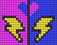 Alpha pattern #90646