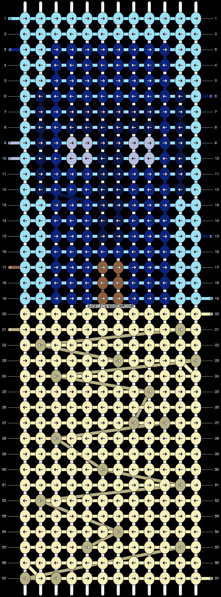 Alpha pattern #90651 pattern