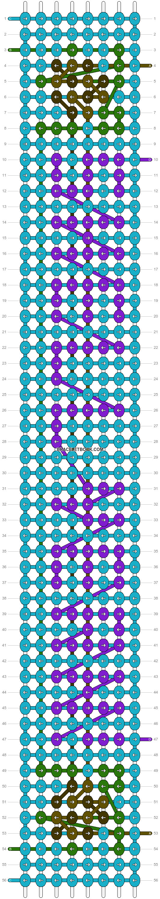 Alpha pattern #90653 pattern
