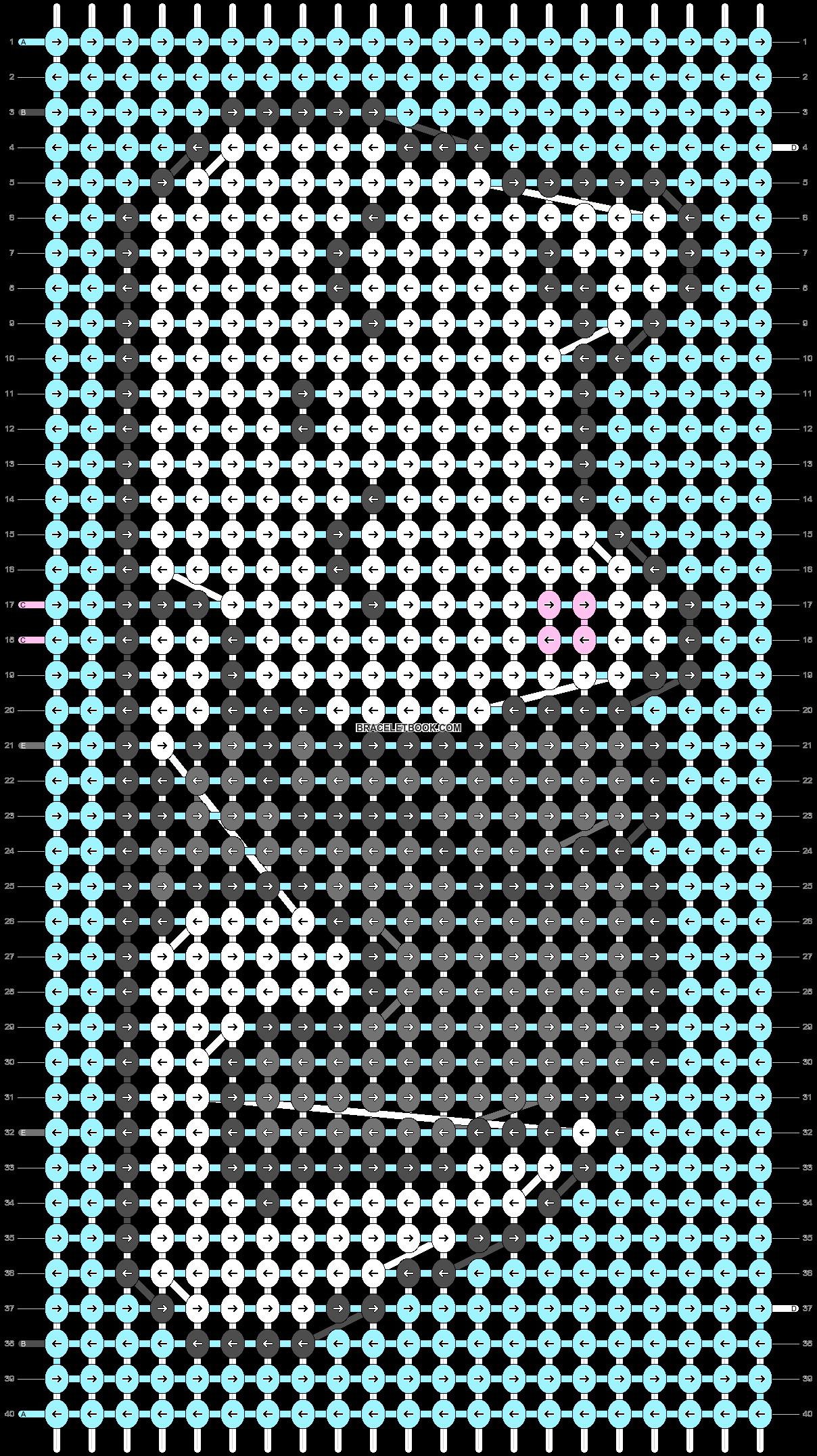 Alpha pattern #90680 pattern