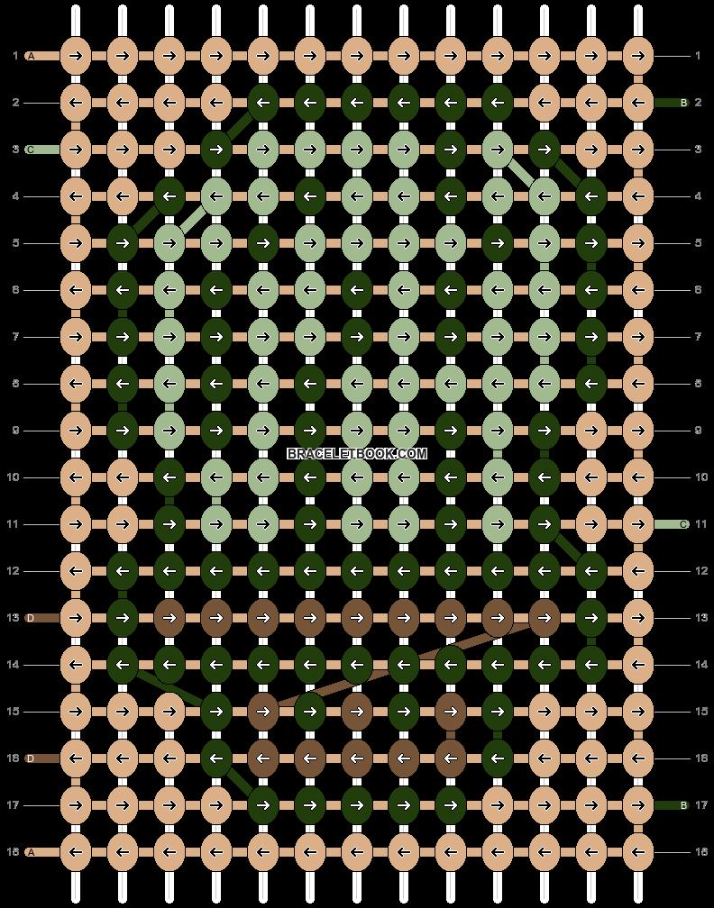 Alpha pattern #90714 pattern