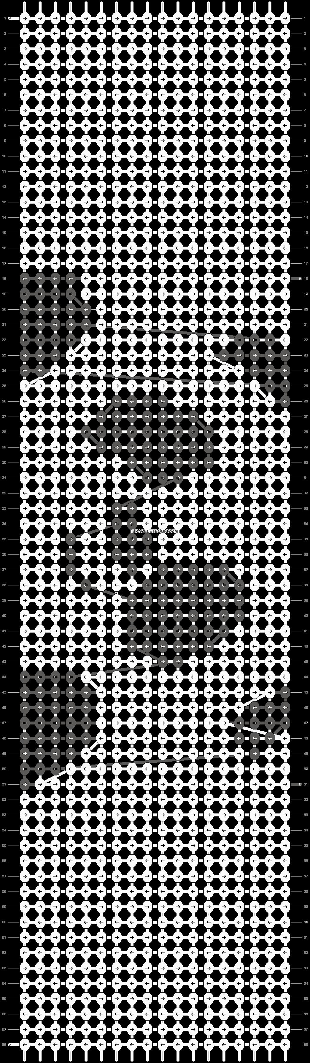 Alpha pattern #90728 pattern